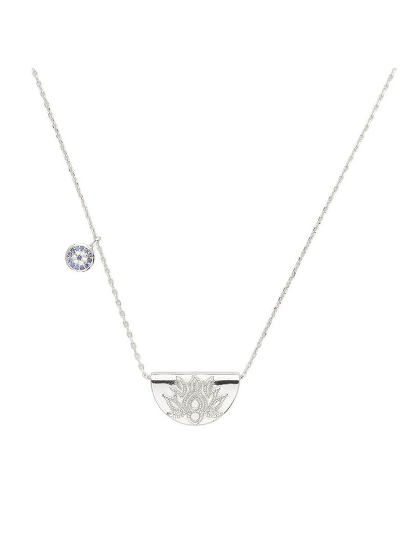 Lucky Lotus Necklace Necklaces By Charlotte Silver