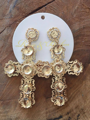 Cali Cross Earrings
