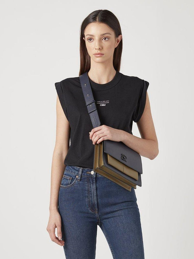 Camilla and Marc Agnes Tank Black | Perlu