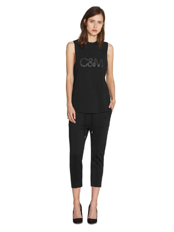 camilla-and-marc-classic-logo-tank-black-black