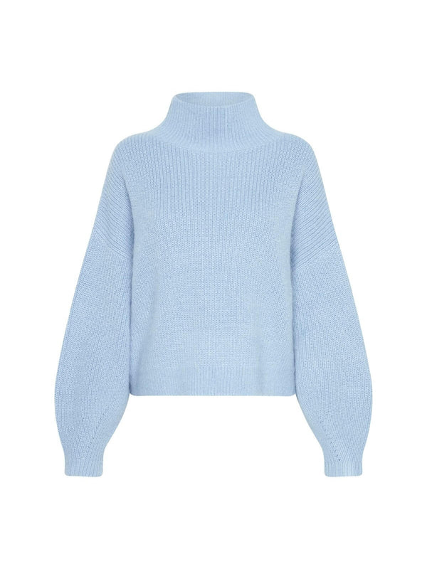 Camilla and Marc Tanami Knit Jumper Light Blue | Perlu