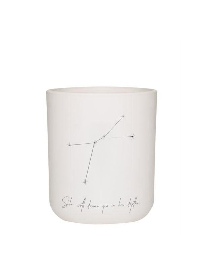 Large Zodiac Candle - Cancer Homewares Damselfly