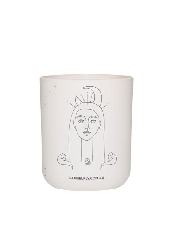 Large Zodiac Candle - Cancer