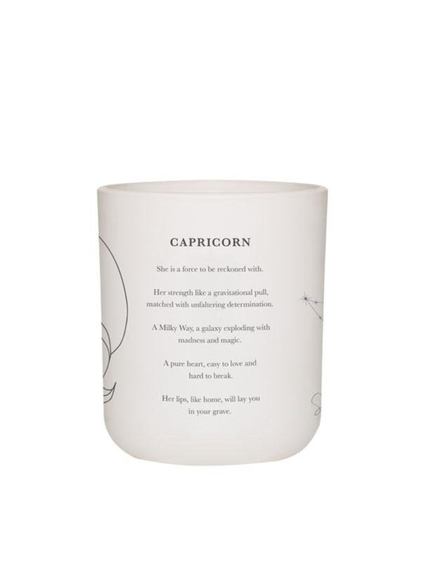 Large Zodiac Candle - Capricorn