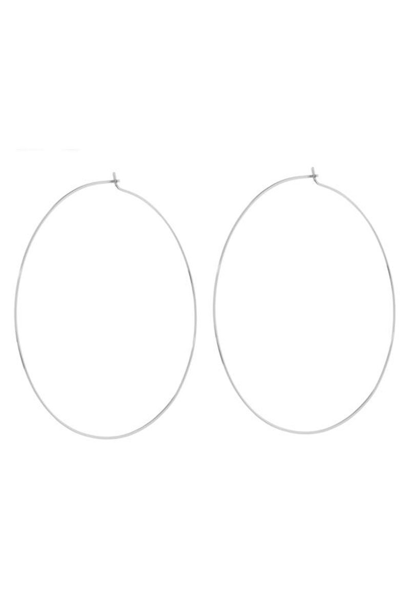 Luv AJ The Capri Wire Hoops | Perlu