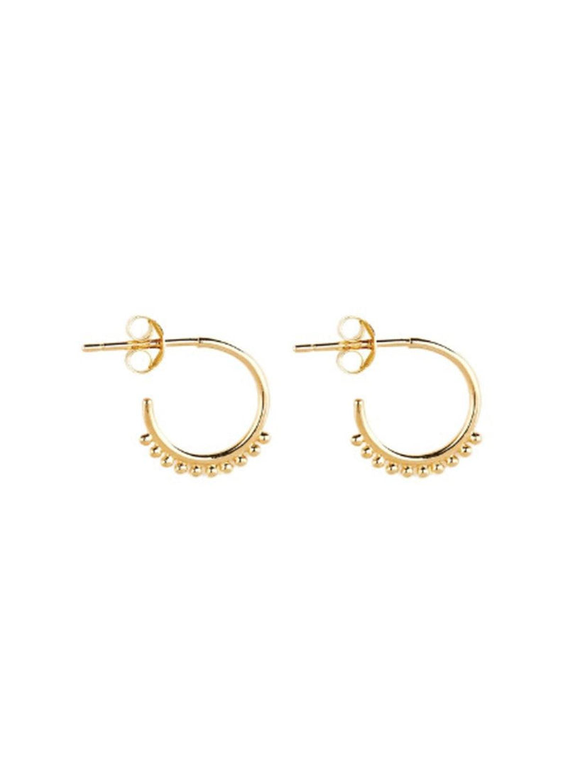 By Charlotte Cherish Hoop Earrings - Gold | Perlu