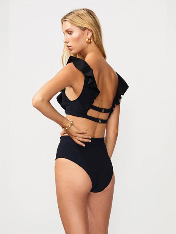 Chi Chi Bonded High Waisted Bottom Swimwear SUBOO