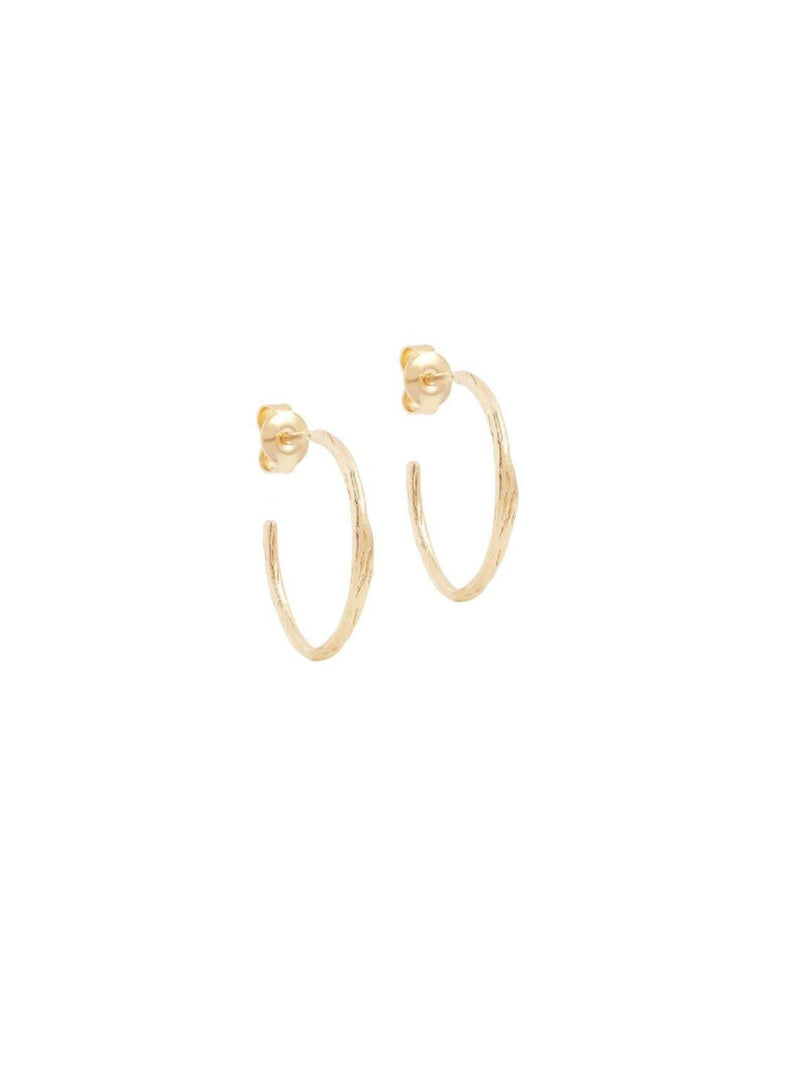 By Charlotte Devotion Hoops Gold | Perlu