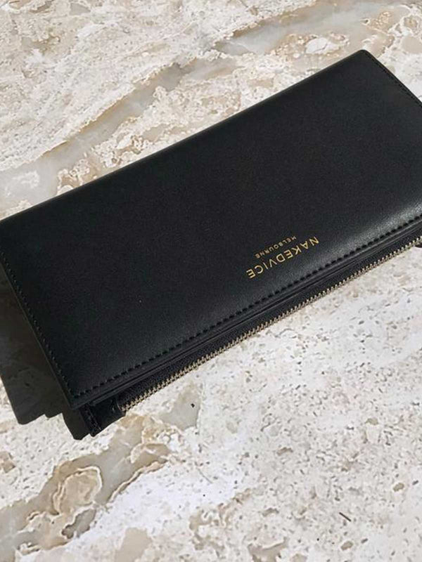 Naked Vice Drew Wallet Gold | Perlu