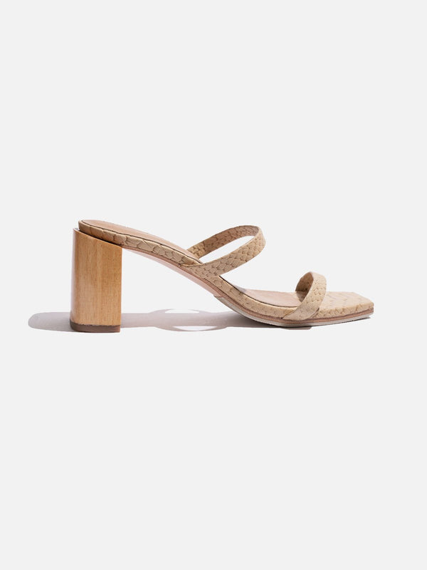 James Smith I Sirenuse Sandal - Crema I Perlu