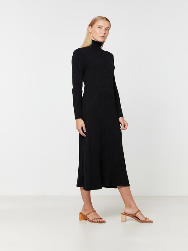Eden Knit Dress - Black Dresses & Jumpsuits Elka Collective