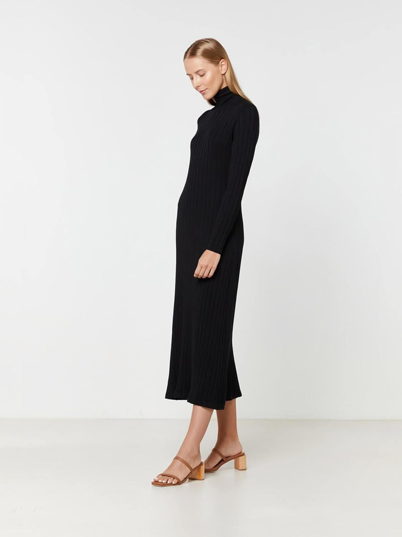Eden Knit Dress - Black