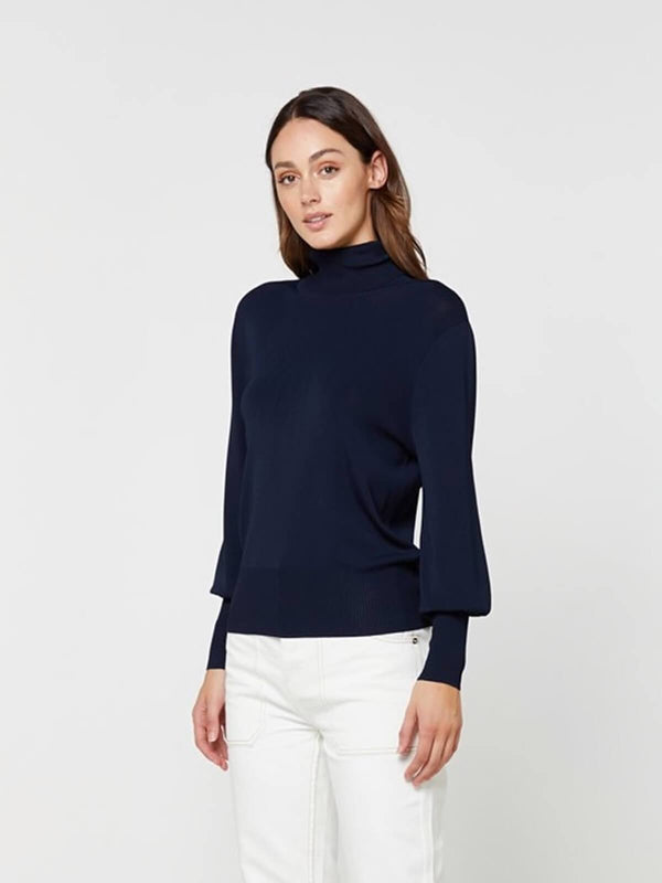 Elka Collective Jacey Knit Navy | Perlu