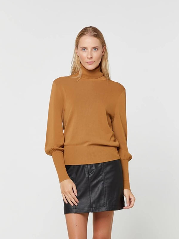 Elka Collective Jacey Knit Ochre | Perlu