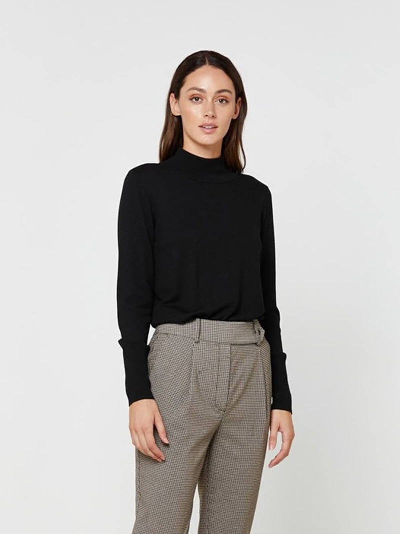 Elka Collective Lavinia Knit Black | Perlu