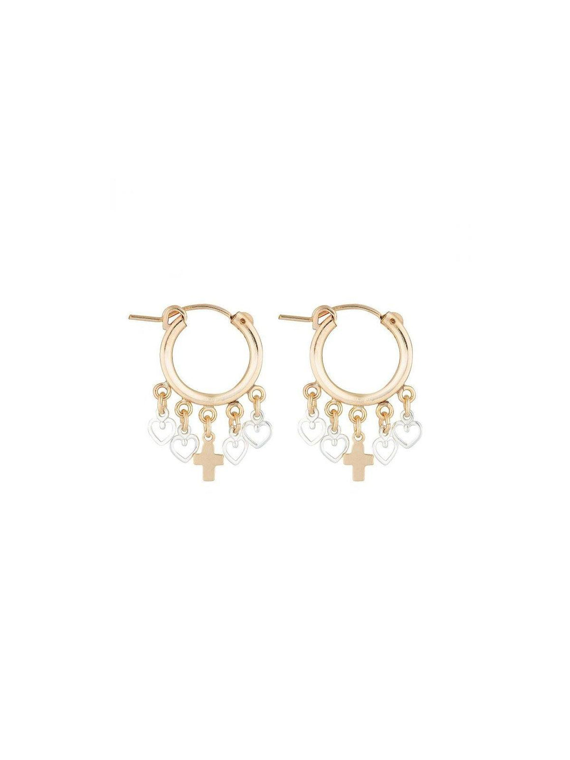 Luv AJ I Zeus Coeur Earrings I Perlu