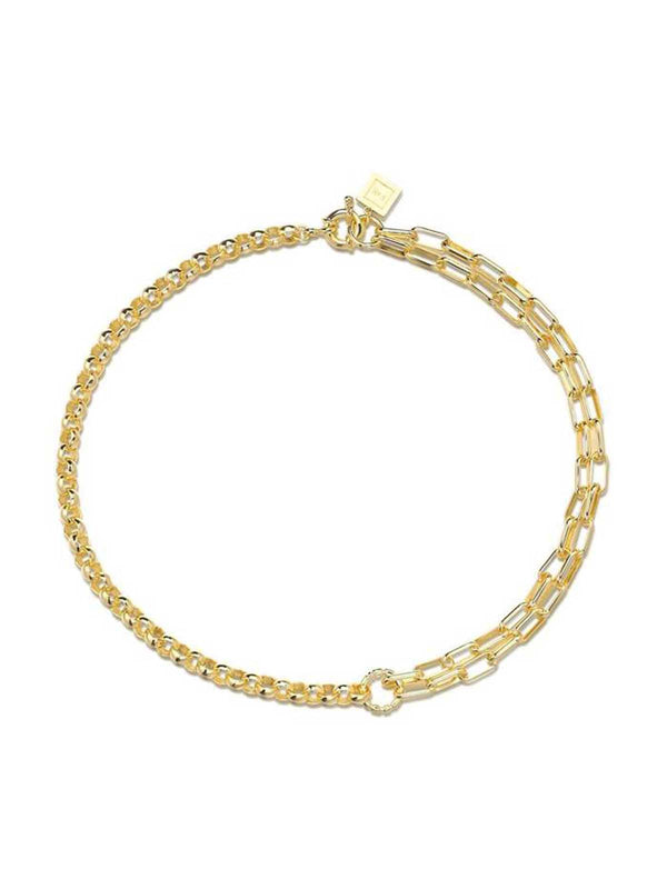 F+H Jewellery Slash Double Chain Necklace | Perlu