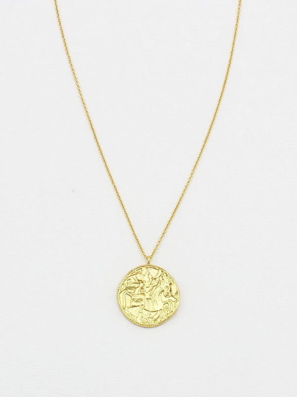 Alexandria Coin Necklace Necklaces Jolie & Deen