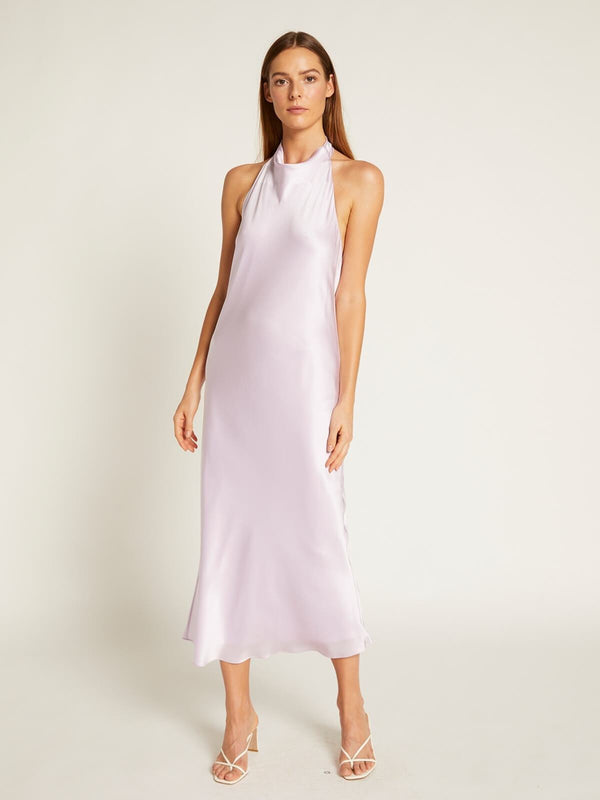 Ginia Lila Dress - Lilac | Perlu