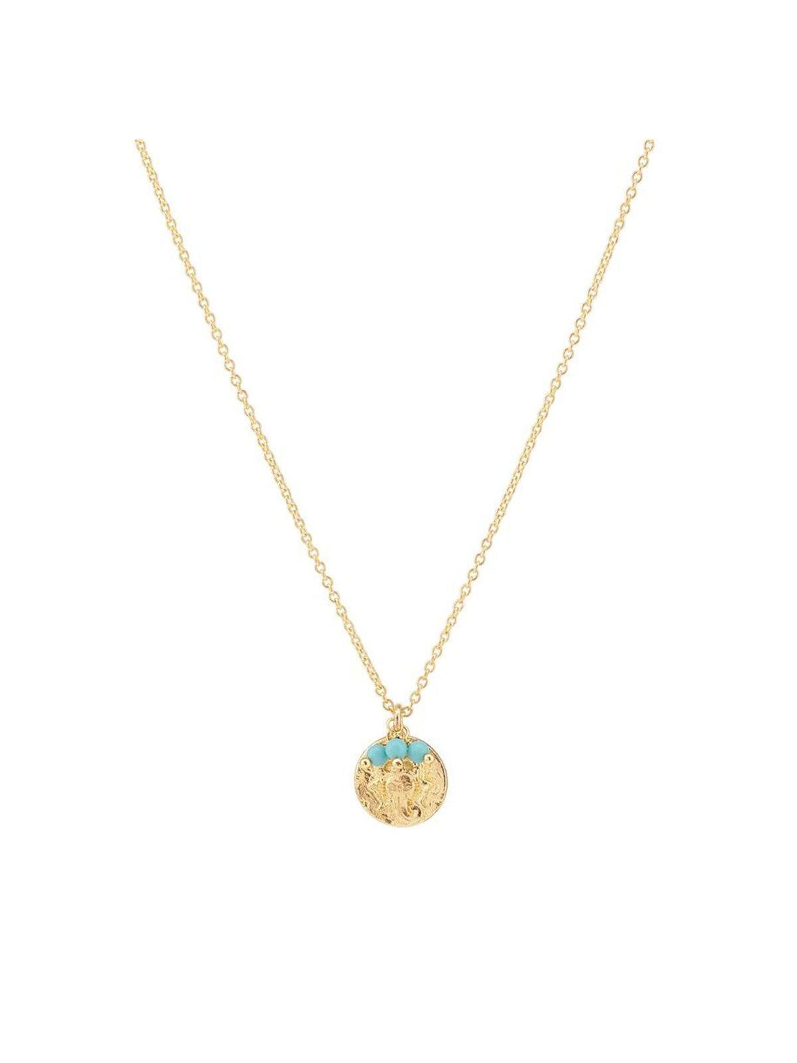 By Charlotte Radiant Blessing Necklace Gold | Perlu