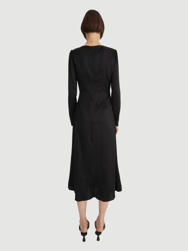 Hansen & Gretel | Giuliana Dress - Black | Perlu