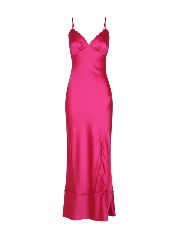 Hansen & Gretel Hayley Dress Fuchsia | Perlu