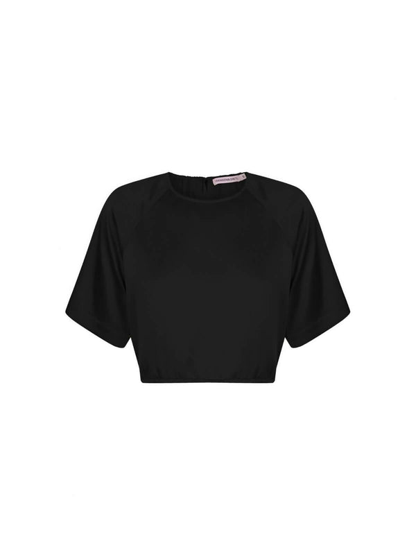 Hansen & Gretel Thandie Top Black | Perlu
