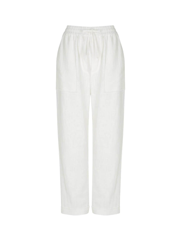 Volley Pant - Ivory Pants Hansen and Gretel