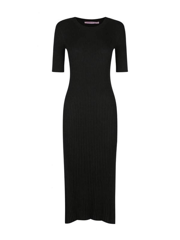 Hansen & Gretel York Dress - Black | Perlu