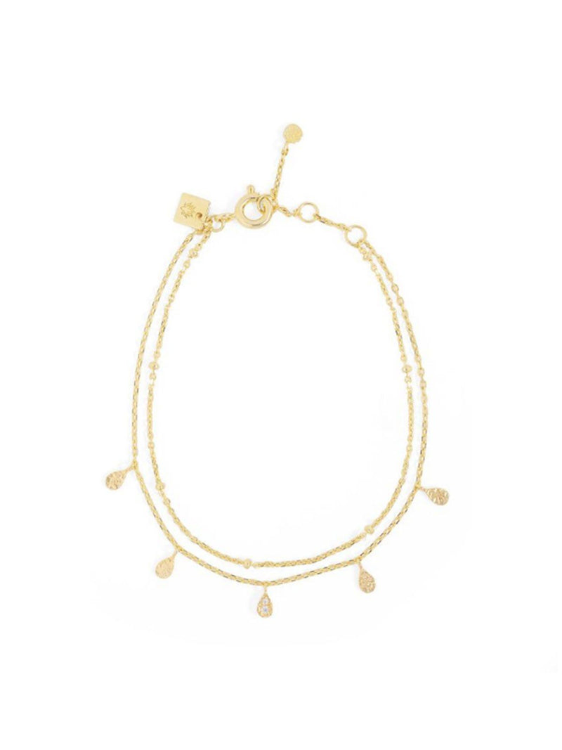 Illuminate Bracelet - Gold Accessories By Charlotte Gold