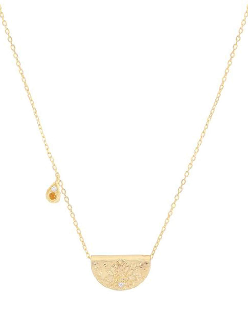Illuminate Truth Necklace ( November) - Gold