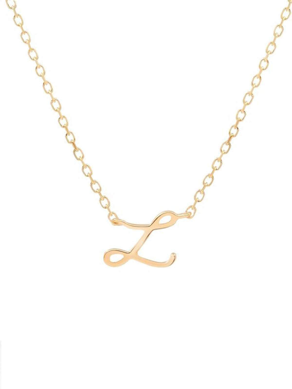 14kt Gold Love Letter Necklace Necklaces By Charlotte