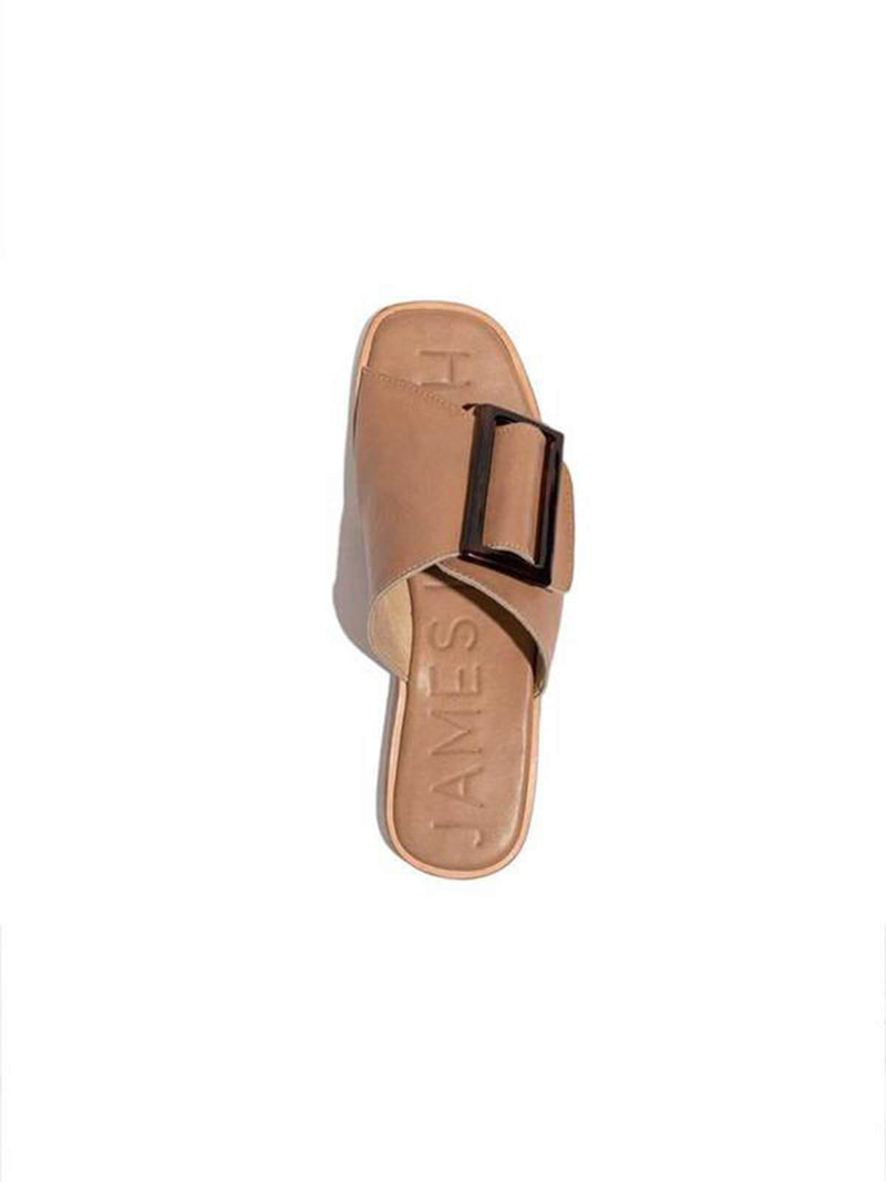 Carina Slide - Tan Shoes James Smith