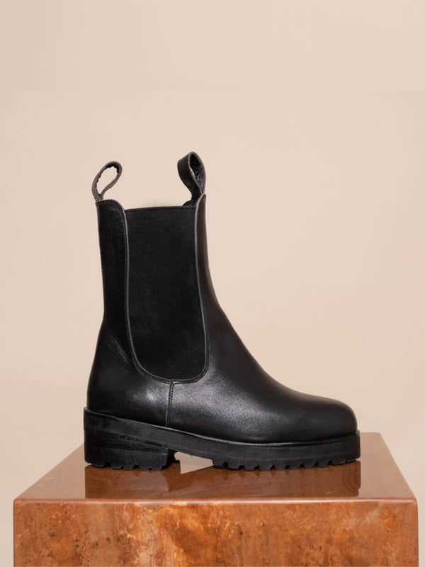 James Smith Como Combat Boot Black | Perlu