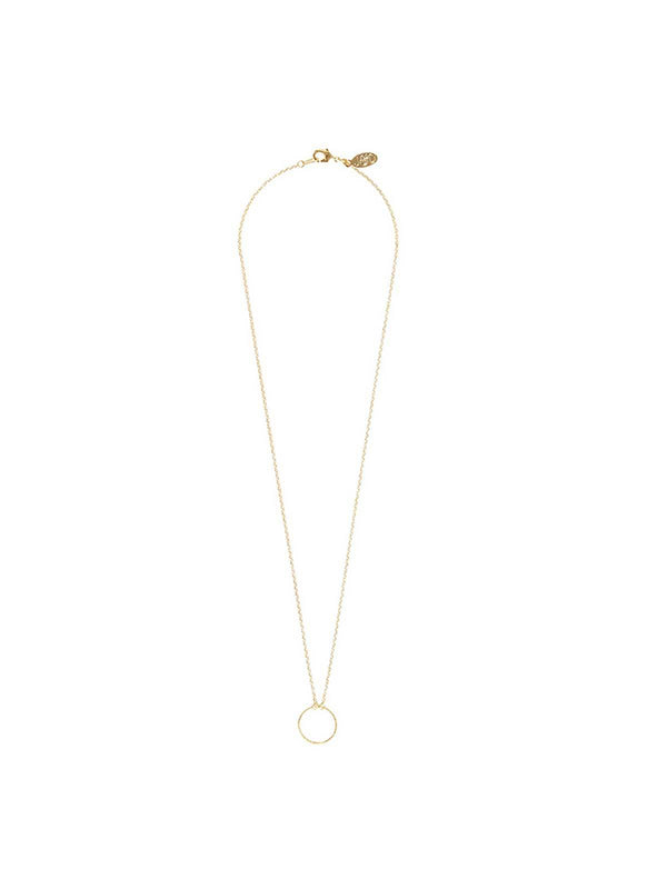 Jolie & Deen | Hollow Circle Necklace | Perlu