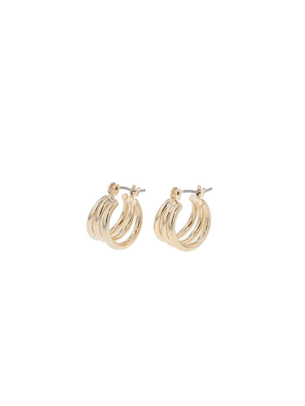 Abbey Sleepers Earrings Jolie & Deen Gold
