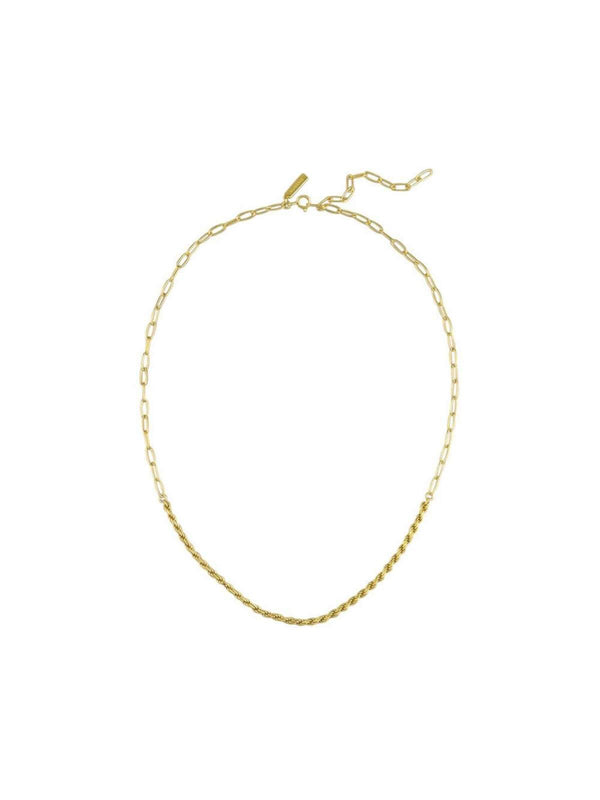 Jolie & Deen Addison Necklace - Gold | Perlu