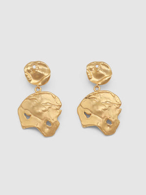 Jolie & Deen | Amelia Gold Earrings | Perlu