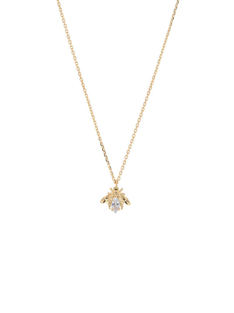 Jolie & Deen | Crystal Bee Necklace | Perlu