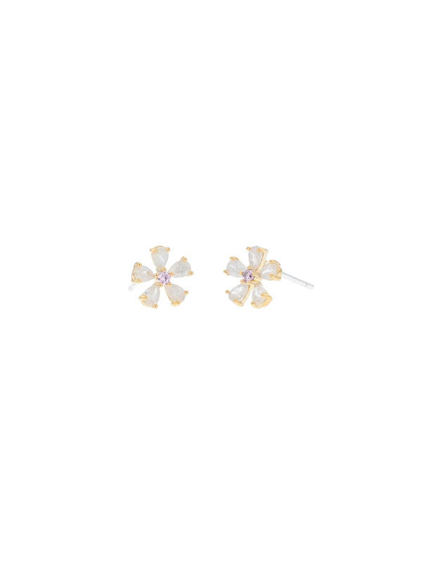 Jolie & Deen | Eileen Flower Earrings | Perlu
