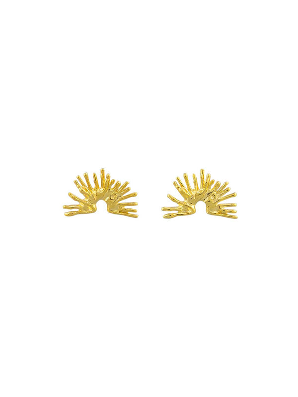 Jolie & Deen | Gemma Earrings - Gold | Perlu