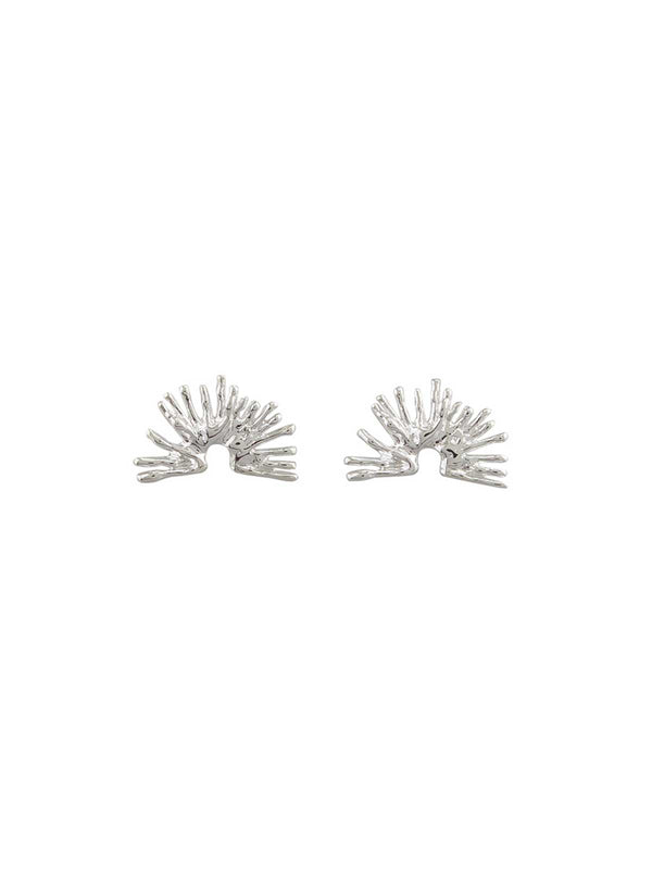Jolie & Deen | Gemma Earrings - Silver | Perlu