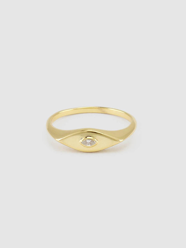 Jolie & Deen - Georgia Ring - Gold | Perlu
