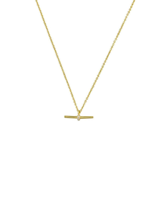 Jolie & Deen Gwen Necklace Gold | Perlu