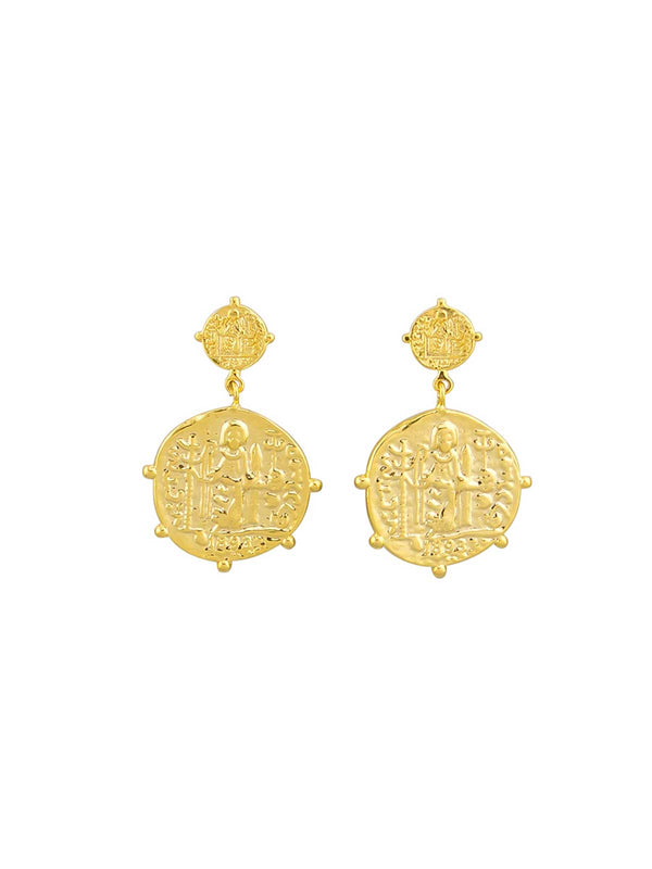 Jolie & Deen | Marisa Earrings - Gold | Perlu