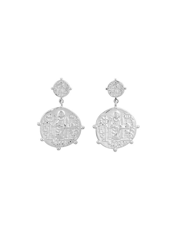Jolie & Deen | Marisa Earrings - Silver | Perlu