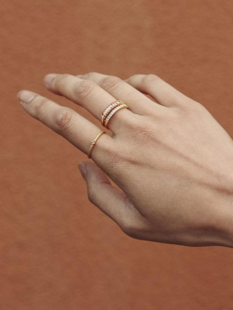 Jolie & Deen Riley Ring Peach | Perlu