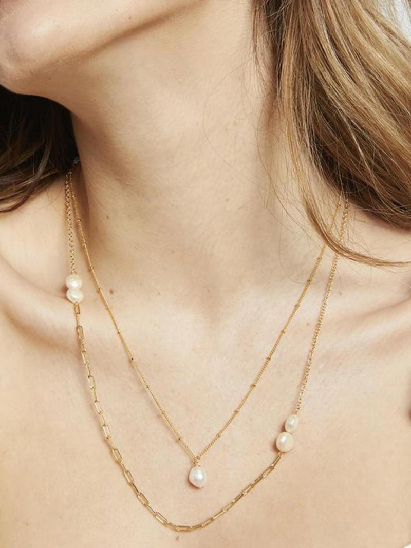 Jolie & Deen | Rylee Necklace - Gold | Perlu