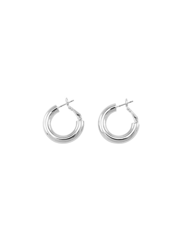 Dani Hoops - Silver Earrings Jolie & Deen