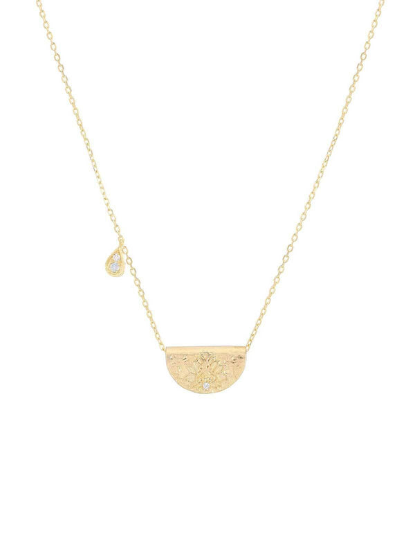 By Charlotte Love Deeply Necklace June Gold | Perlu